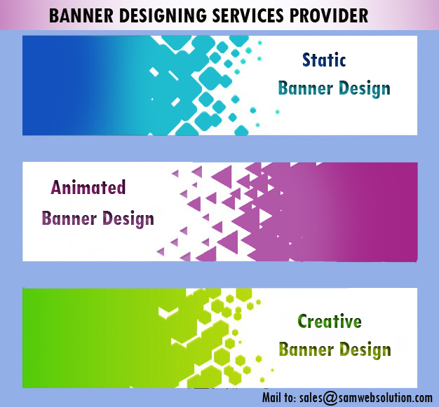 Web banner design services