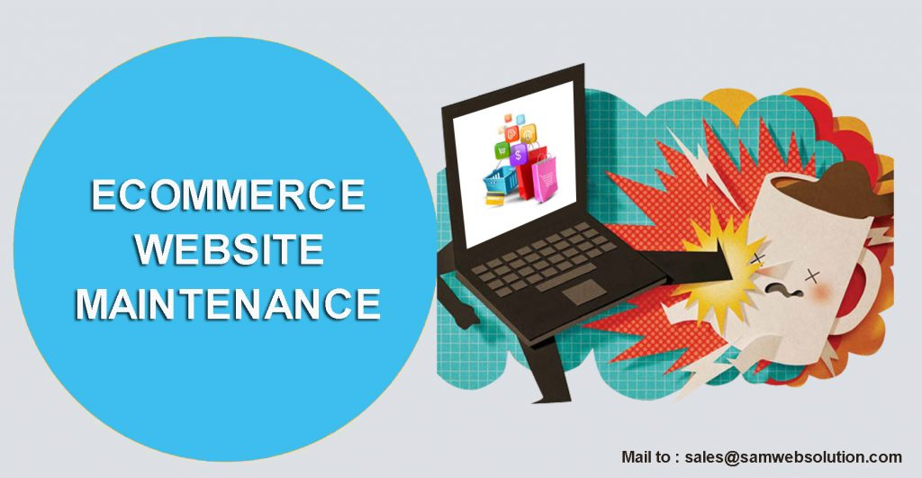 Ecommerce web maintenance