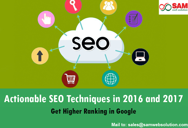 Actionable SEO techniques in 2017