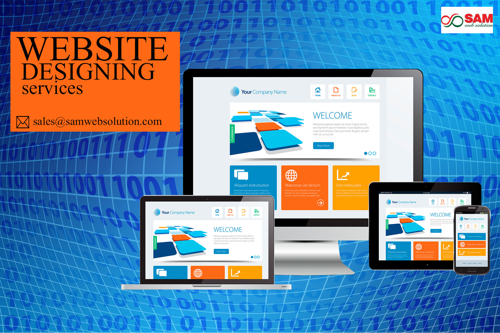 professional web designing services